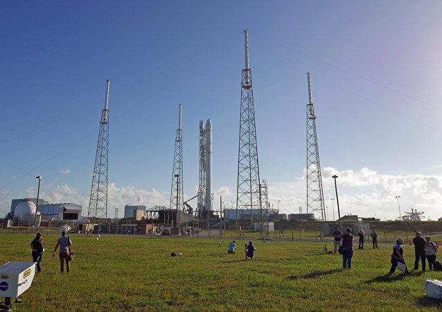 La fusée Falcon 9