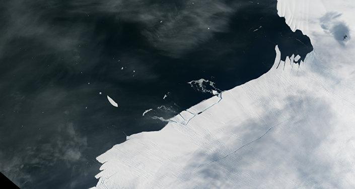 Un iceberg s'est détaché d'un glacier de l'Antarctique