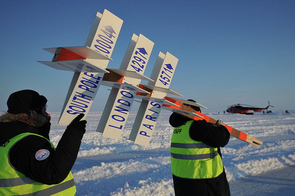 La station scientifique polaire russe Barneo