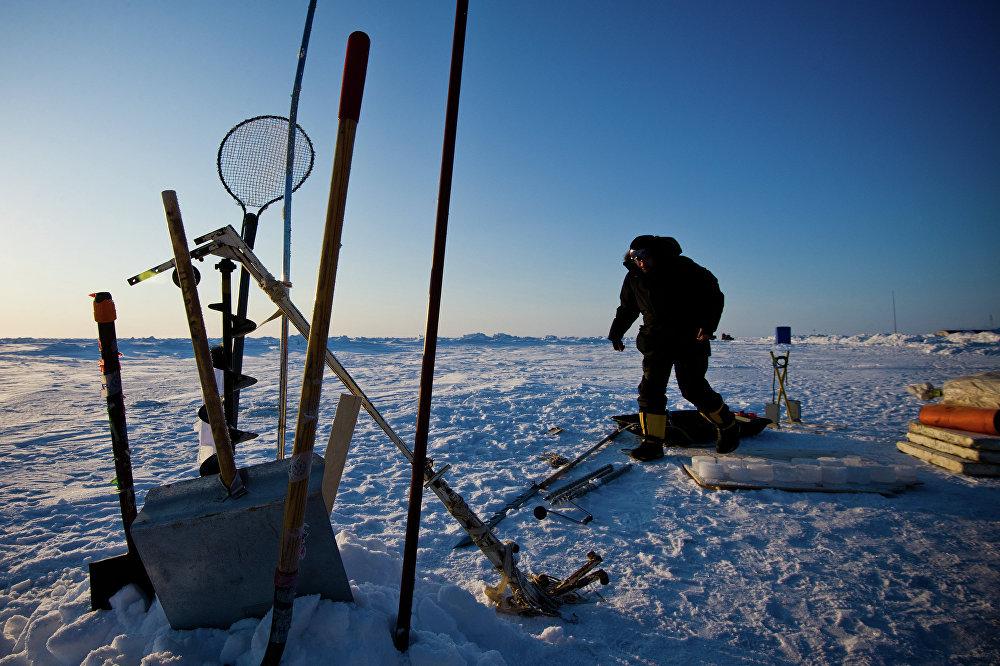 La station polaire russe Barneo
