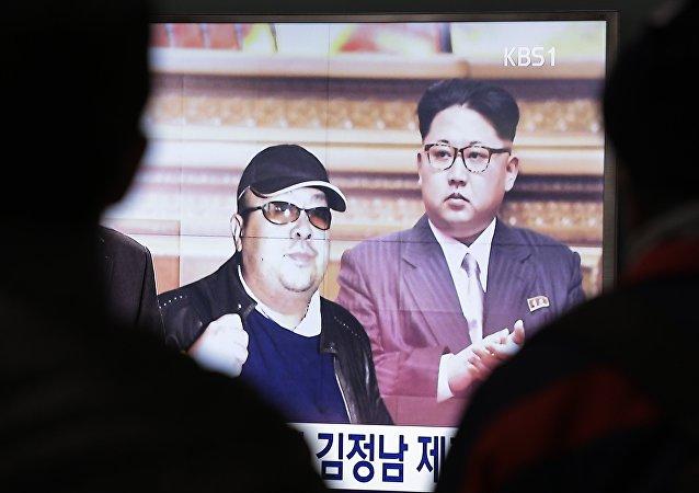 Kim Jong-nam, demi-frère de Kim Jong-un