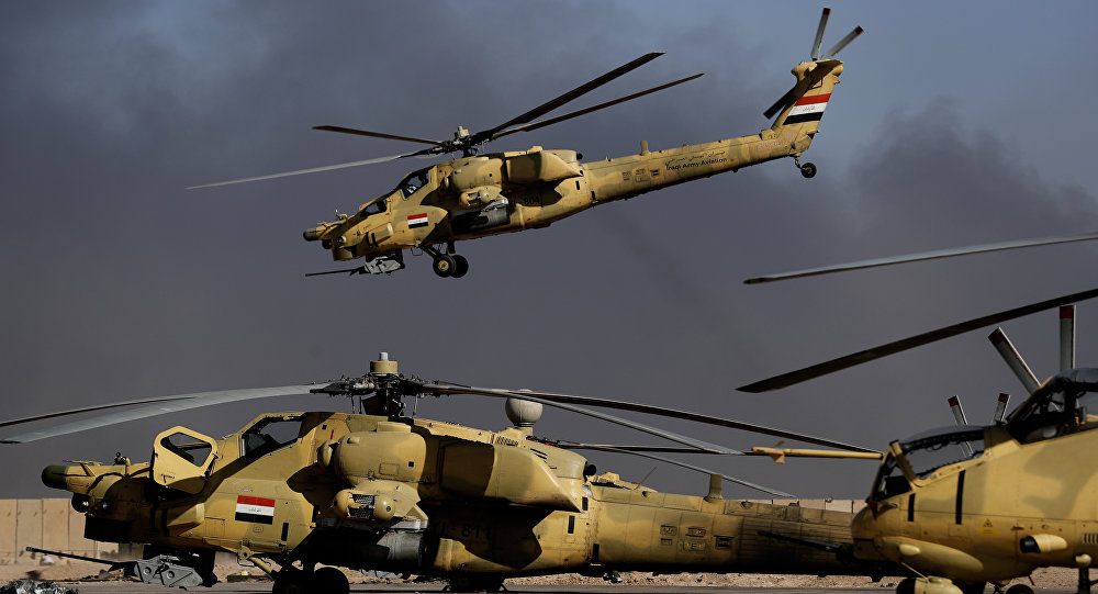 Mi-28 irakiens
