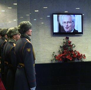La Russie rend hommage à son ambassadeur à l'Onu Vitali Tchourkine