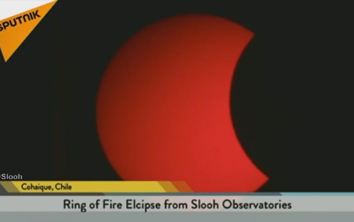La première éclipse solaire de 2017