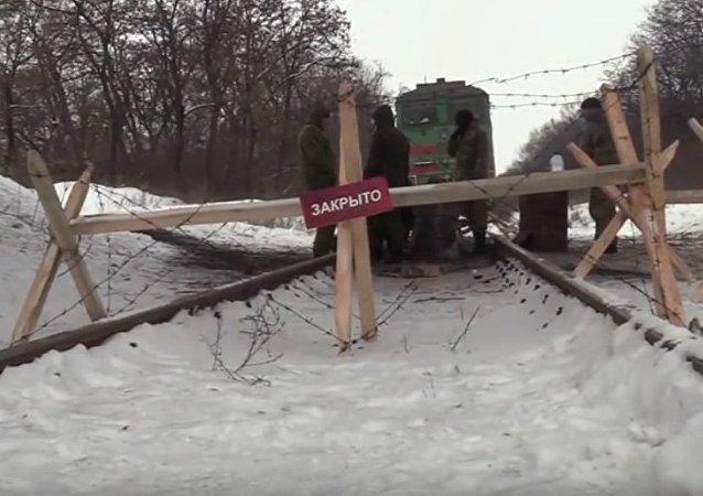 Donbass: depuis le blocus ferroviaire, plus aucune aide humanitaire