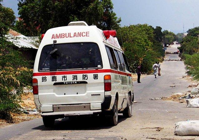 An ambulance, Somali. Archive photo