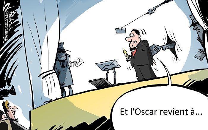 La Main du Kremlin s'introduit à la cérémonie des Oscars