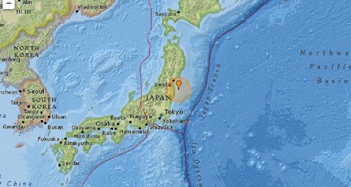 Séisme au large de Fukushima, également ressenti à Tokyo