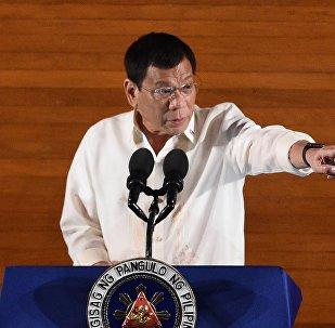 Le président des Philippines, Rodrigo Duterte