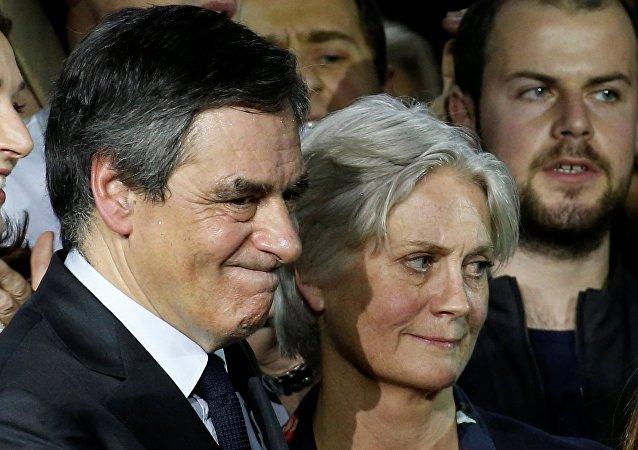 Penelope et Francois Fillon