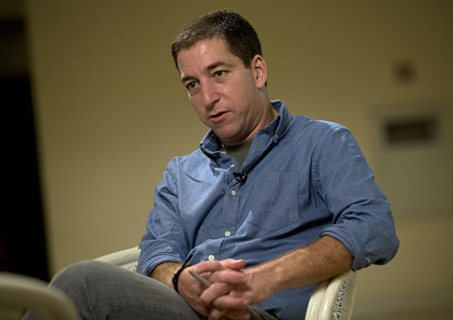 Glenn Greenwald. Archive photo