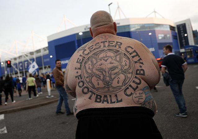 Un supporter de foot