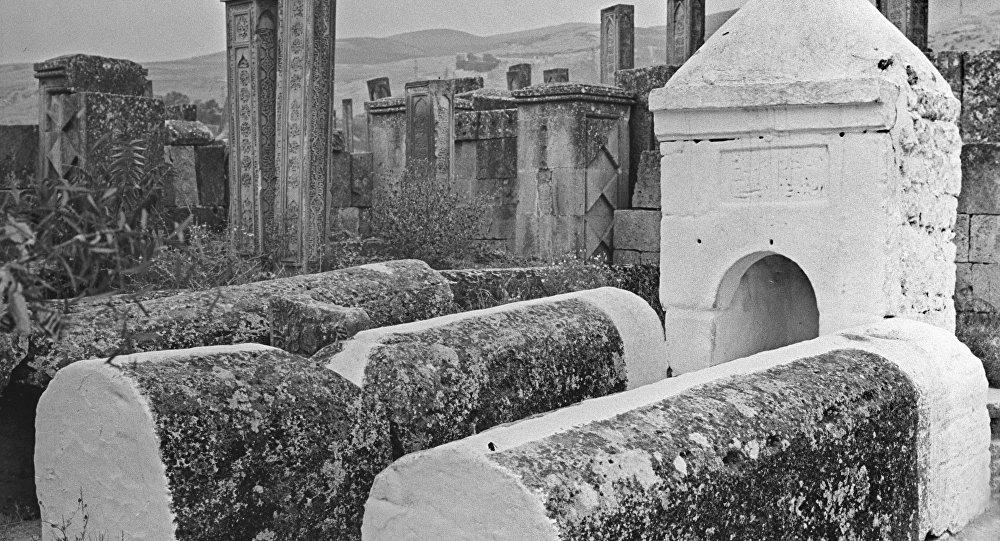 Un cimetière musulman