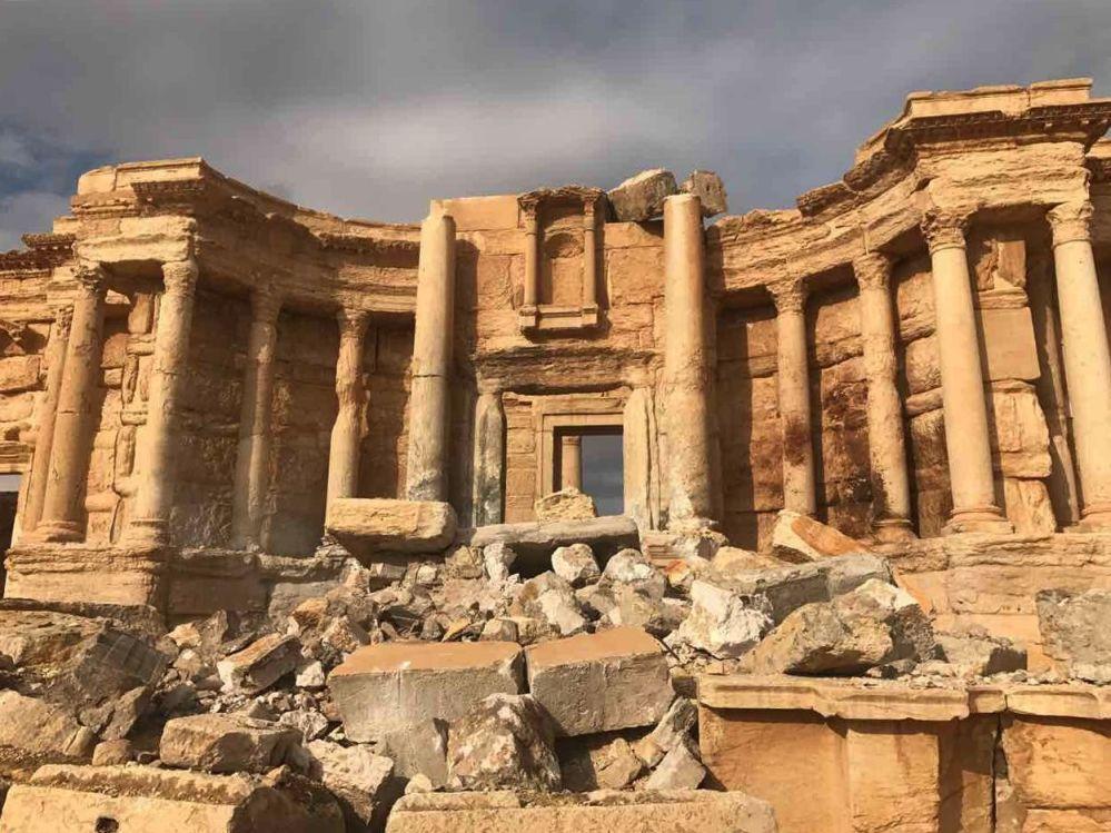 La libération de Palmyre