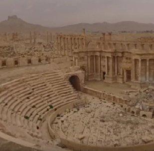 Voilà à quoi ressemble Palmyre liberée de Daech
