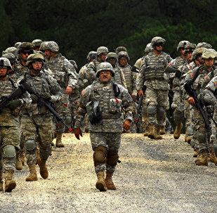 Des soldats de l'armée américaine