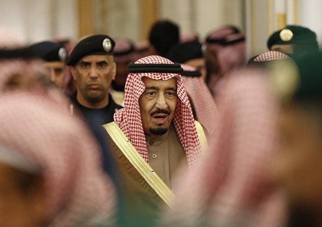 Le roi d'Arabie saoudite Salmane ben Abdelaziz Al Saoud