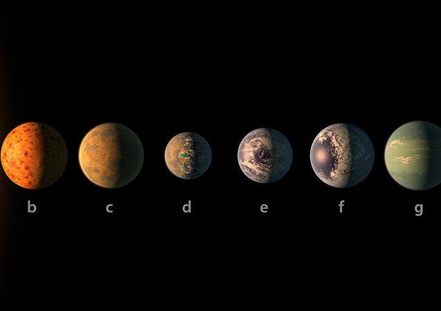 Le système planétaire TRAPPIST-1