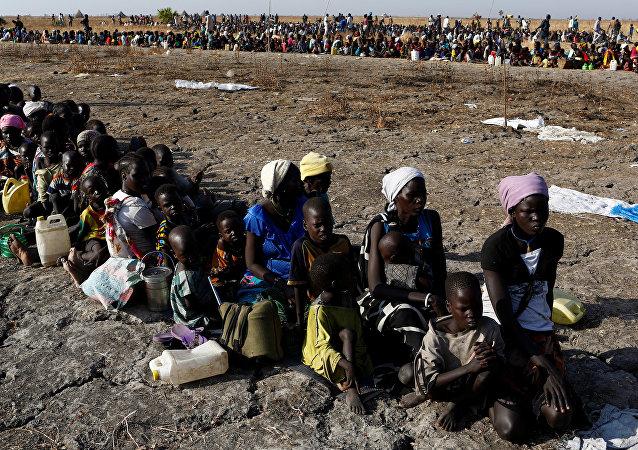 La moitié de la population sud-soudanaise soufre d'une famine sans précédent