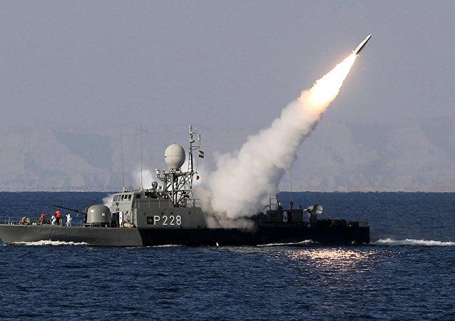 Navire de guerre iranien (image d'illustration)