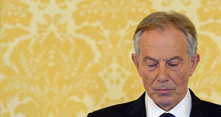 L'ancien Premier-ministre britannique Tony Blair