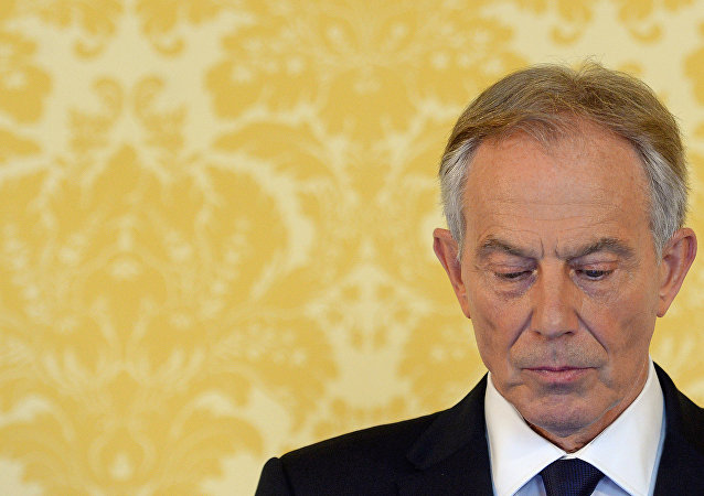 L'ancien Premier-ministre britannique Tony Blair