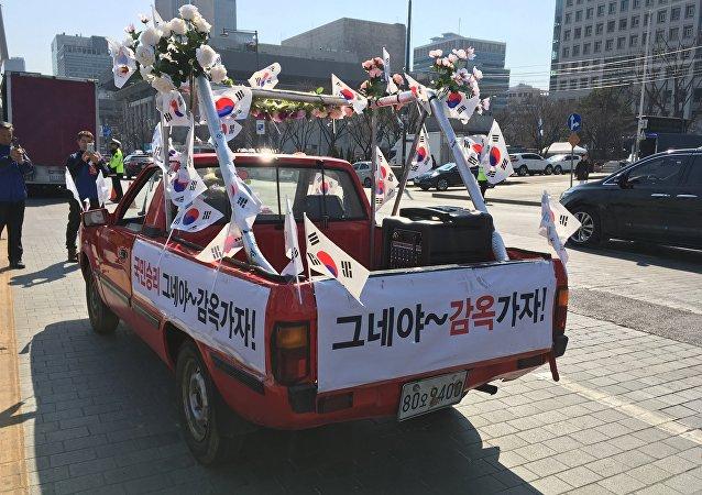 Les Coréens du Sud entre paradis et enfer après la destitution de leur présidente