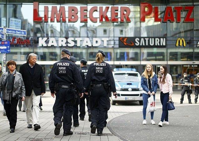 Police à Essen