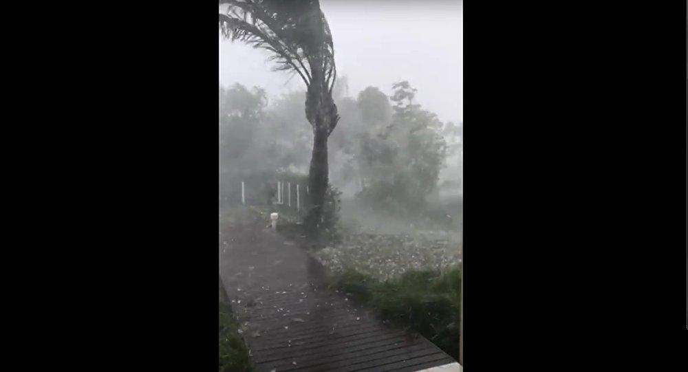 Tempête au Brésil