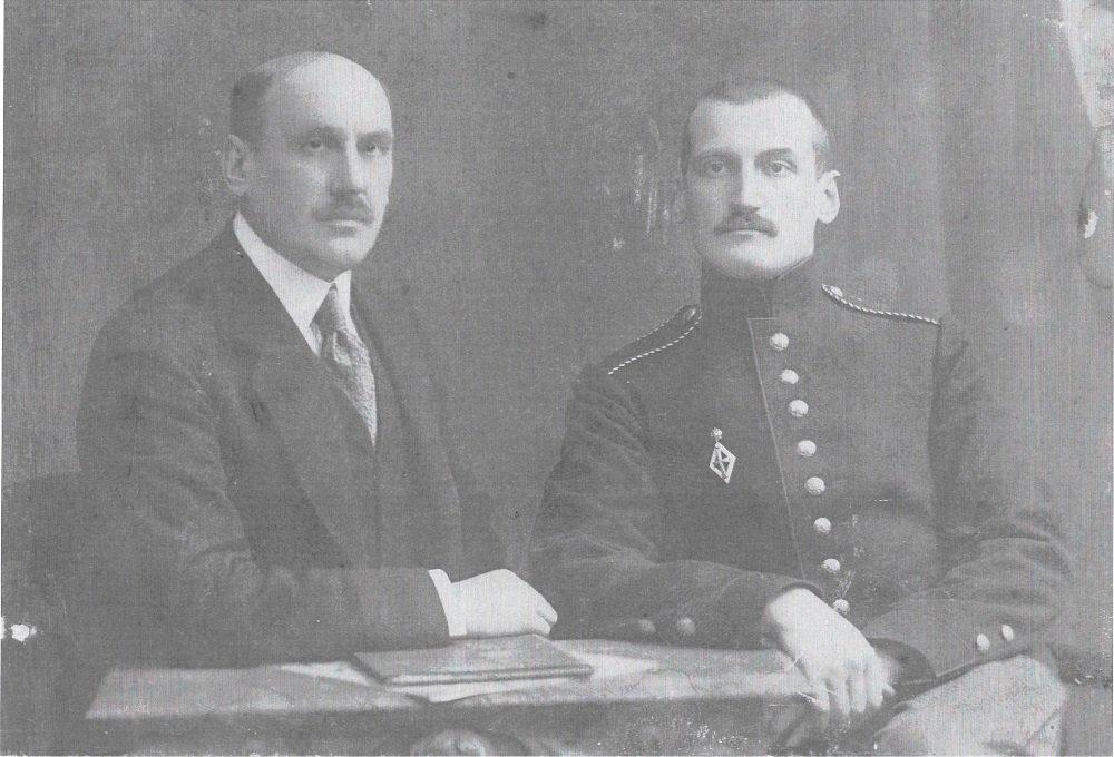 Vladimir Dobrynine et Nicolai Maslovsky
