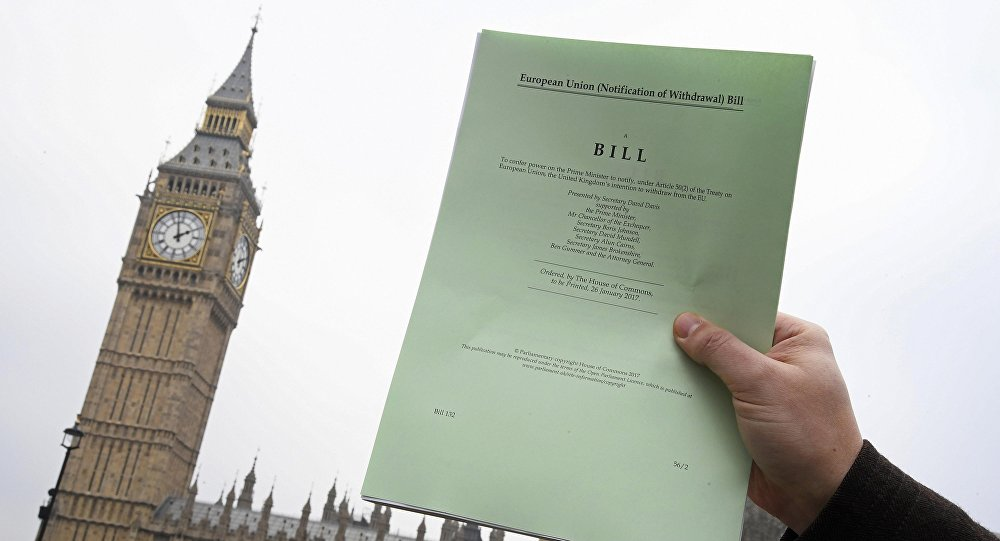 Le 14 mars, Londres fera un nouveau pas hors de l'UE