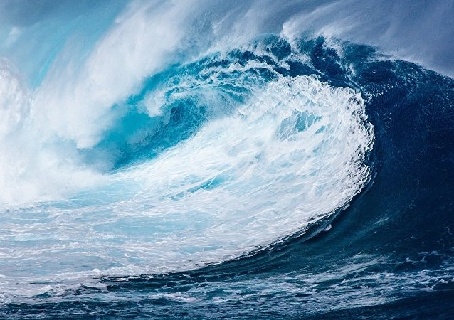 Tsunami. Image d'illutstration