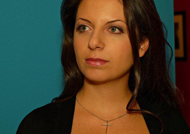 Rédactrice en chef de  RT et de Sputnik Margarita Simonian