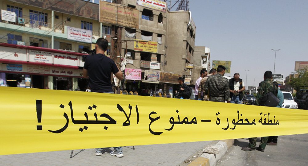 Une double explosion frappe Bagdad, un mort et des blessés