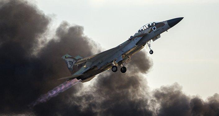 F-15 israélien. Archive photo