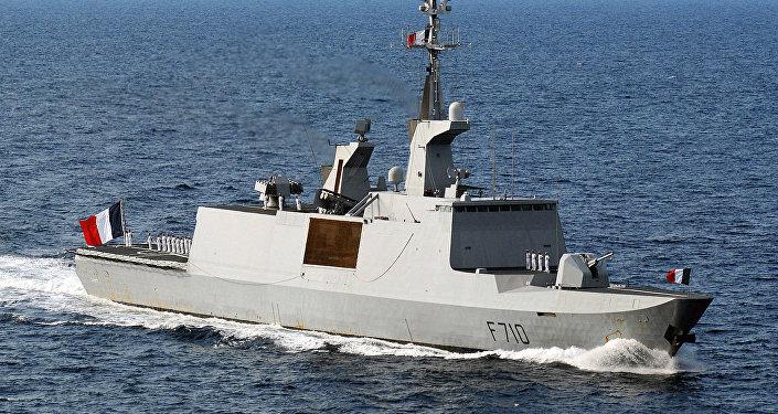La frégate La Fayette (F-710)