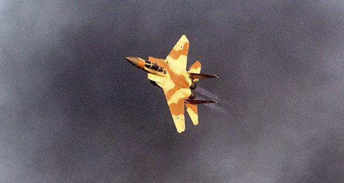chasseur israélien F-15
