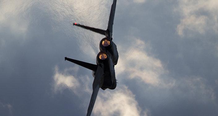 Avion israélien F-15. Archive photo