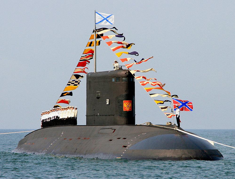 Le service des sous-mariniers russes en images