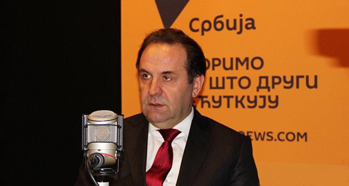 Le vice-Premier ministre serbe Rasim Ljajic