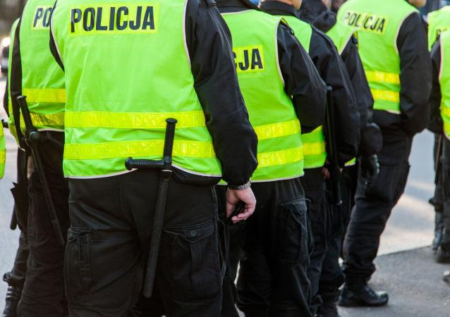 La police polonaise