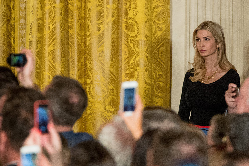 Ivanka Trump, les yeux et les oreilles du président des USA