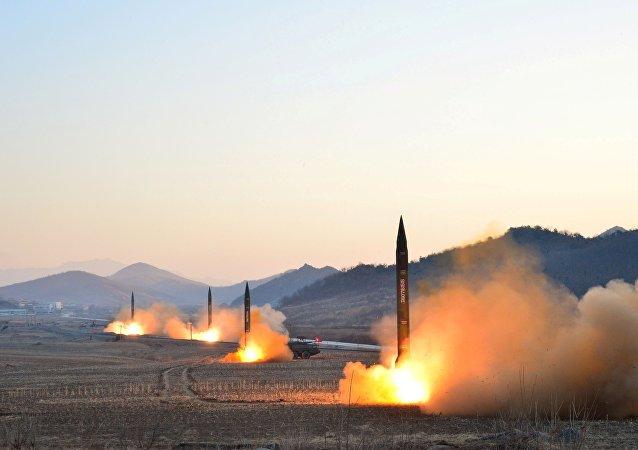 Lancement des missiles nord-coréenes