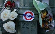 Le lieu d'attentat de Londres
