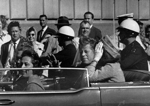 John F. Kennedy avant d'être assassiné