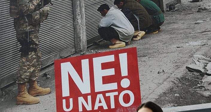 Le non à l'Otan au Monténégro (archives)