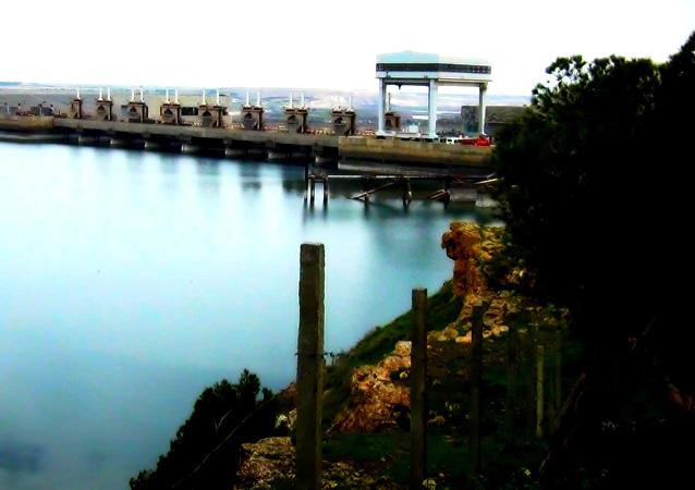 Le barrage de Tabqa