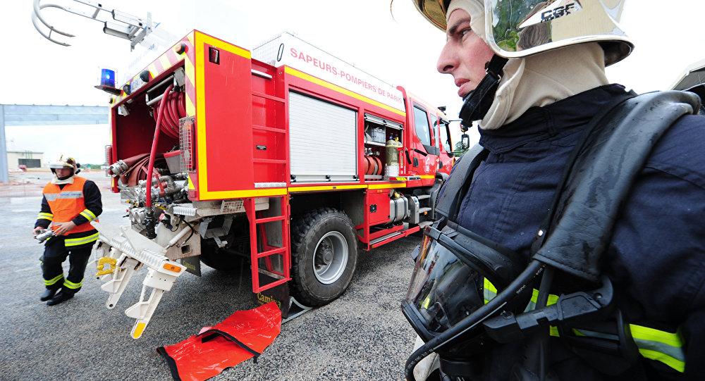 pompiers français