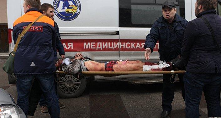 Explosion dans le métro de Saint-Pétersbourg