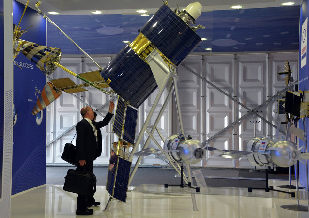 Un satellite Gonets-M